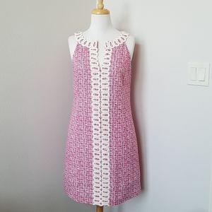 Lilly Pulitzer Pink Shift Sleeveless Dress